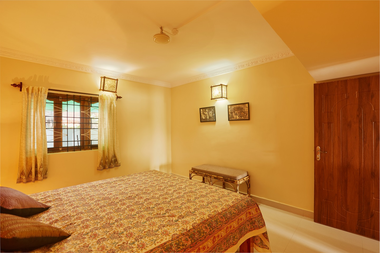 Two Bedroom Self-Service AC Apartment, Talpona, Goa bedroom 2